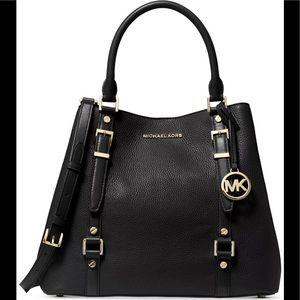 💜Michael Kors Bedford Legacy Large Grab Bag Black